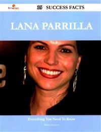 Lana Parrilla 35 Success Facts