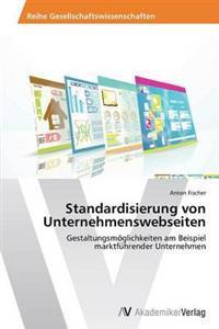 Standardisierung Von Unternehmenswebseiten