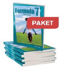 Formula 7 Paket elevbok 25 ex+25 elevwebb+1 lärarwebb
