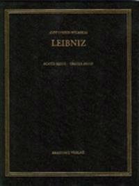 Gottfried Wilhelm Leibniz. Sämtliche Schriften und Briefe, BAND 1, Gottfried Wilhelm Leibniz. Sämtliche Schriften und Briefe (1668-1676)