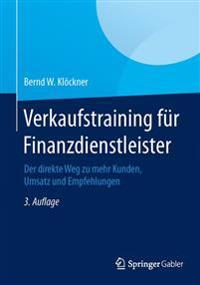 Verkaufstraining F r Finanzdienstleister
