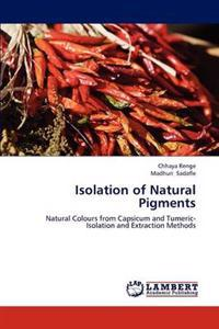 Isolation of Natural Pigments