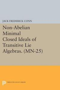 Non-Abelian Minimal Closed Ideals of Transitive Lie Algebras