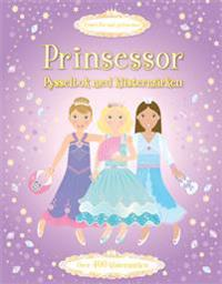 Prinsessor - pysselbok med klistermärken