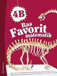 Bas Favorit matematik 4B - Elevpaket (Bok + digital produkt)