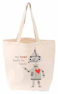 My Heart Beats for Books Tote Bag