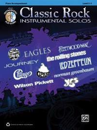 Classic Rock Instrumental Solos: Piano Accompaniment: Level 2-3 [With CD (Audio)]