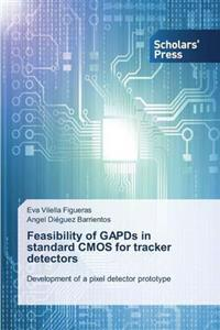 Feasibility of Gapds in Standard CMOS for Tracker Detectors