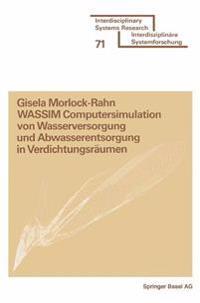 Wassim Computersimulation Von Wasserversorgung Und Abwasserentsorgung in Verdichtungsräumen