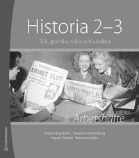 Historia 2-3 Arbetshäfte 10-pack - Sök, tolka, granska och värdera