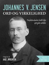 Ord og virkelighed-1927-1933