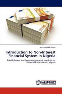 Introduction to Non-Interest Financial System in Nigeria