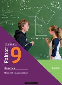 Faktor 9: grunnbok - Espen Hjardar, Jan-Erik Pedersen | Inprintwriters.org