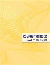 Composition Book, Wide Ruled
