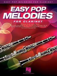 Easy Pop Melodies for Clarinet Clt BK/CD