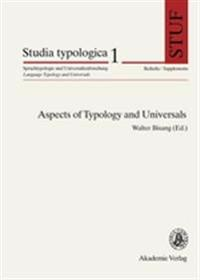 Aspects of Typology and Universals