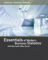 Essentials of Modern Business Statistics With Microsoft Office Excel