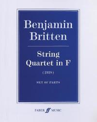 Benjamin Britten: String Quartet in F