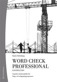 Word Check Professional Building and construction (10-pack)
