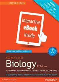 Biology, Higher Level, for the Ib Diploma Etext Pearson Baccalaureate