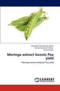 Moringa Extract Boosts Pea Yield