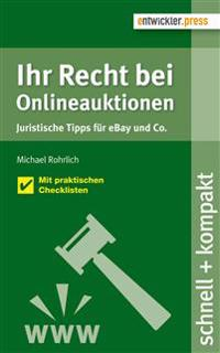 Ihr Recht bei Onlineauktionen