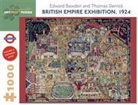 British Empire Exhibition 1924 1000-Piece Jigsaw Puzzle  Aa730