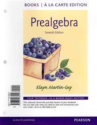 Prealgebra, Books a la Carte Edition