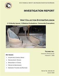 Investigation Report: Vent Collection System Explosion