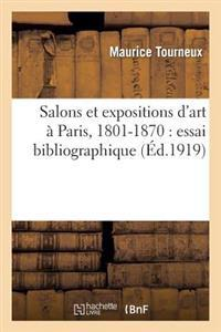 Salons Et Expositions D'Art a Paris, 1801-1870