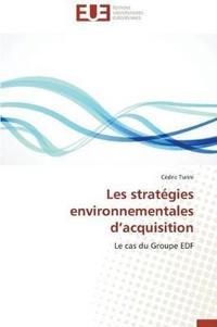 Les Strat�gies Environnementales D Acquisition