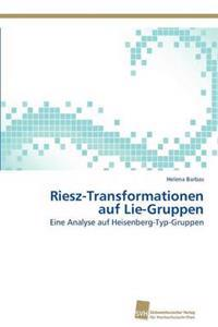 Riesz-Transformationen Auf Lie-Gruppen