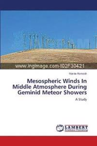 Mesospheric Winds in Middle Atmosphere During Geminid Meteor Showers