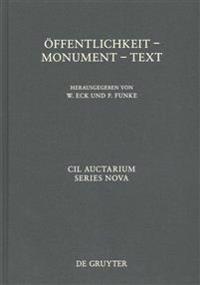Offentlichkeit - Monument - Text: XIV Congressus Internationalis Epigraphiae Graecae Et Latinae - Akten
