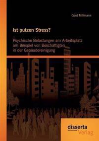 Ist Putzen Stress? Psychische Belastungen Am Arbeitsplatz Am Beispiel Von Beschaftigten in Der Gebaudereinigung