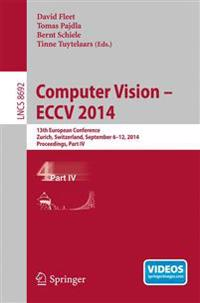 Computer Vision -- ECCV 2014
