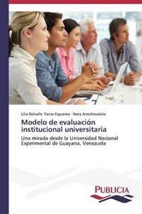 Modelo de Evaluacion Institucional Universitaria