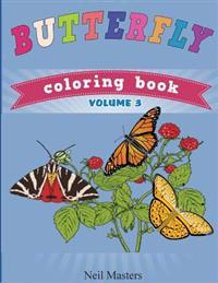 Butterfly Coloring Book (Avon Coloring Books)