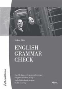 English Grammar Check (10-pack) - Engelska 5