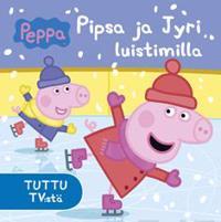 Pipsa Possu - Pipsa ja Jyri luistimilla