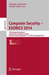 Computer Security - ESORICS 2014