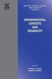 Environmental Contexts and Disability