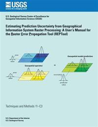 Estimating Prediction Uncertainty from Geographical Information System Raster Processing: A User's Manual for the Raster Error Propagation Tool (Repto