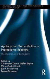 Apology and Reconciliation in International Relations