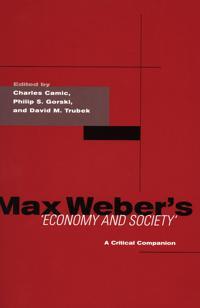 Max Weber's Economy And Society