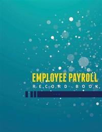 Employee Payroll Record Book