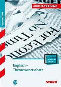 Abitur-Training - Englisch Themenwortschatz + ActiveBook