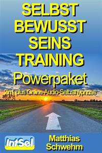Selbstbewusstseinstraining Powerpaket 2in1 Plus Online-Audio-Selbsthypnose