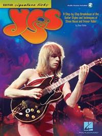 Yes - Guitar Signature Licks: A Step-By-Step Breakdown of the Guitar Styles and Techniques of Steve Howe and Trevor Rabin
