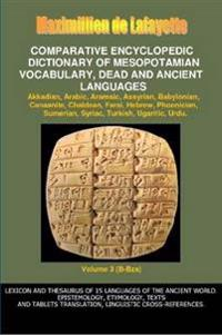 V3.Comparative Encyclopedic Dictionary of Mesopotamian Vocabulary Dead & Ancient Languages